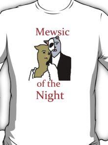 Mewsic of the Night T-Shirt