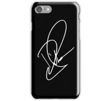 Dinah Jane signature - White text ( New ) iPhone Case/Skin