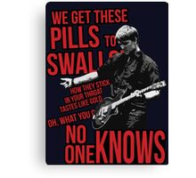 No One Knows - Queens Of The Stone Age Canvas Print