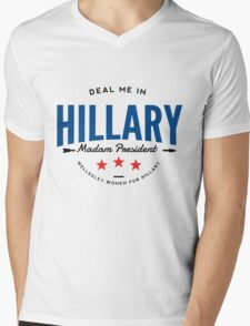 Deal Me In, Madam President Mens V-Neck T-Shirt