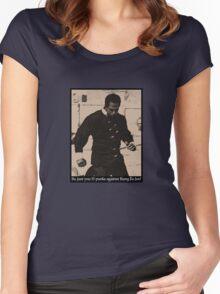 Kung Fu Joe Women's Fitted Scoop T-Shirt