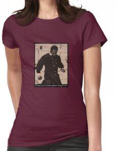 Kung Fu Joe Womens Fitted T-Shirt