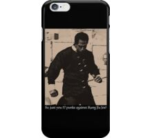 Kung Fu Joe iPhone Case/Skin