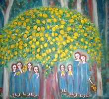 """The sacred lemon Tree"" by catherine walker"