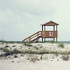 Life Guard Station by Jeri Stunkard