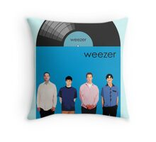 Weezer - Blue Album Throw Pillow