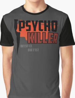 Psycho Killer - Talking Heads Graphic T-Shirt