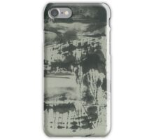 landscape before the rain (ink, paper) iPhone Case/Skin