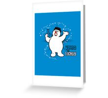 Walter the Iceman Greeting Card