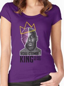 Omar Little - The Wire Women's Fitted Scoop T-Shirt