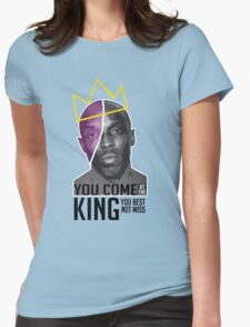 Omar Little - The Wire Womens Fitted T-Shirt