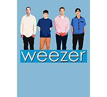 Weezer - Blue Album Photographic Print