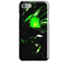 Emerald Nigthmares Abstract iPhone Case/Skin