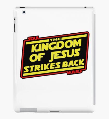 The Kingdom of Jesus Strikes Back iPad Case/Skin