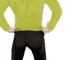 """""""Captain Booty"""" Kirk Star Trek Sticker"""