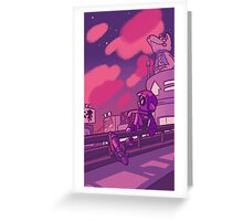 Inkopolis Sunset Greeting Card