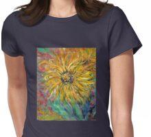 Sunflower Womens Fitted T-Shirt