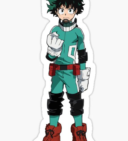 Mighty Midoriya Sticker