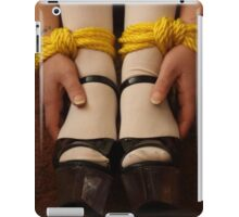 Bound Wrists and Ankles iPad Case/Skin
