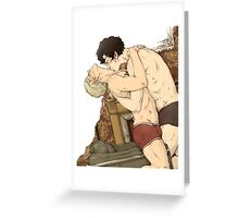 BBC Sherlock: Kissing Greeting Card
