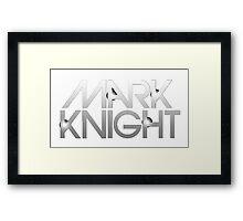 Mark Knight  Framed Print