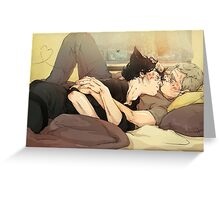 BBC Sherlock: Catlock Cuddles Greeting Card
