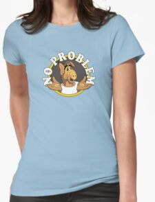 No Problem Womens Fitted T-Shirt