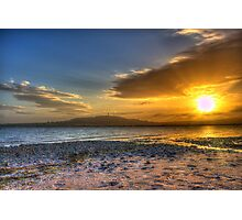 Sunset over the Lough Photographic Print