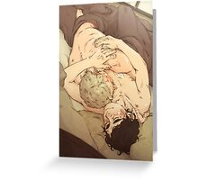 BBC Sherlock: Sleepy Cuddles Greeting Card