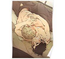 BBC Sherlock: Sleepy Cuddles Poster
