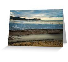 Frazer beach. NSW Greeting Card