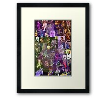 Guitar Heros Framed Print