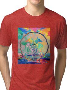Glitch Horse II Tri-blend T-Shirt