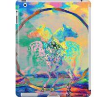 Glitch Horse II iPad Case/Skin