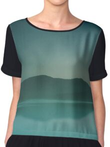 Lakeside Drive Chiffon Top