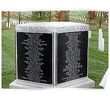Arlington's Pentagon Memorial Poster