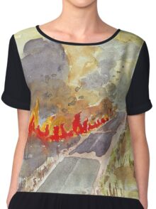 Veldfire in Magaliesburg Chiffon Top