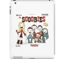 Buffy And The Scoobies iPad Case/Skin