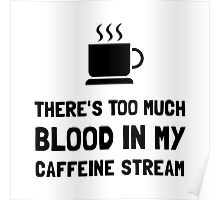 Blood In Caffeine Stream Poster