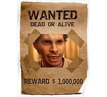 Buffy Oz Werewolf Wanted  Poster