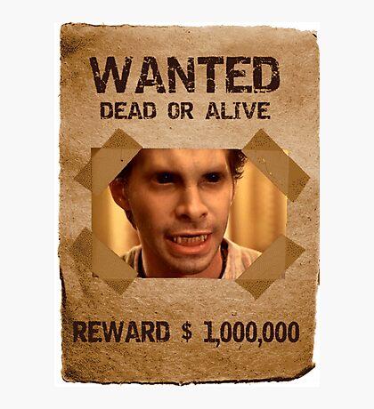 Buffy Oz Werewolf Wanted  Photographic Print