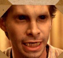 Buffy Oz Werewolf Wanted  Sticker