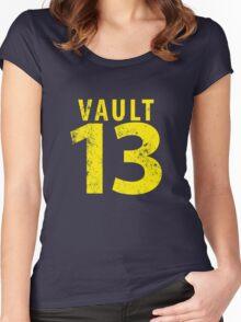 Vault 13 Women's Fitted Scoop T-Shirt