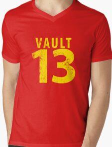 Vault 13 Mens V-Neck T-Shirt