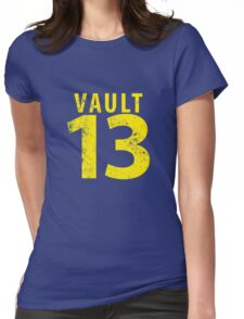 Vault 13 Womens Fitted T-Shirt