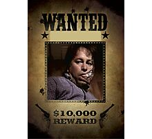 Buffy Ted Wanted Photographic Print
