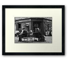 Boston Tea Party Framed Print