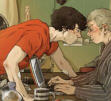 BBC Sherlock: A hot summer afternoon by sweetlitlekitty