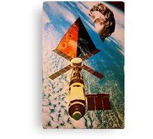 Late satellite  Canvas Print
