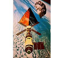 Late satellite  Photographic Print